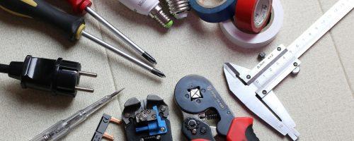 Elektroniker Werkzeuge